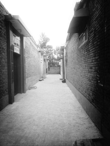 old street. Taking Photos Show Me The Way Hello World