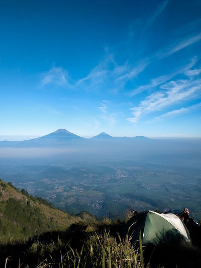 Mount andong, indonesia