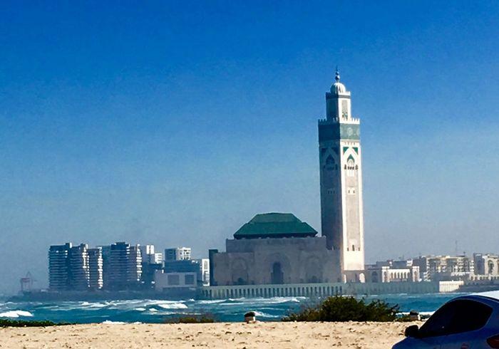 À Casablanca Morroco Mosquee Hassan II Today :)