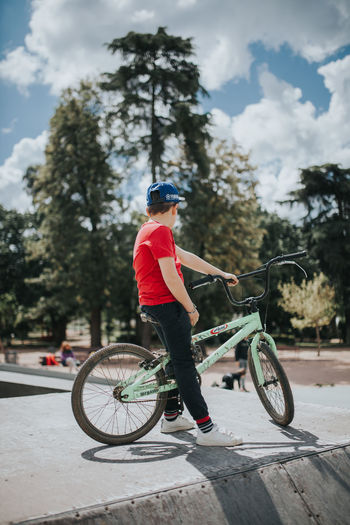 Kids Kids Being Kids Kids Playing Youth Activity Bicycle Bike Bycicle Casual Clothing Childhood Children Photography Day Kid Kids Having Fun Leisure Activity Lifestyles One Person Outdoors Park Real People Riding Side View Transportation Summer Sports