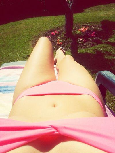 Disfrutando del verano