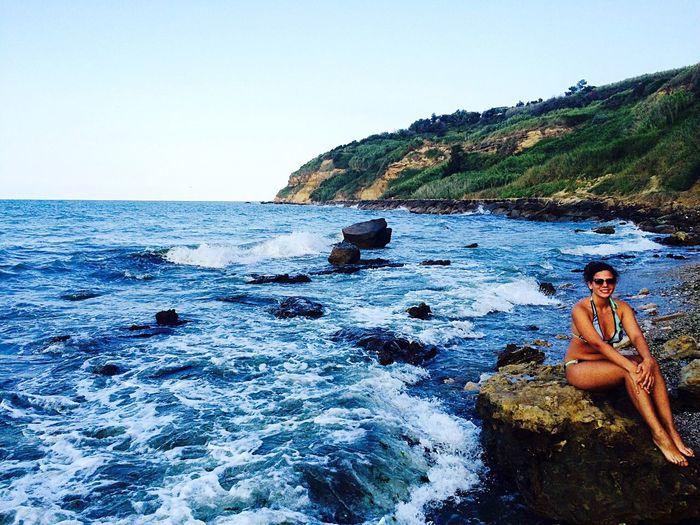 Summer Italy Nature Spectacular Enjoying Life Beach Me Sun Waves Coast