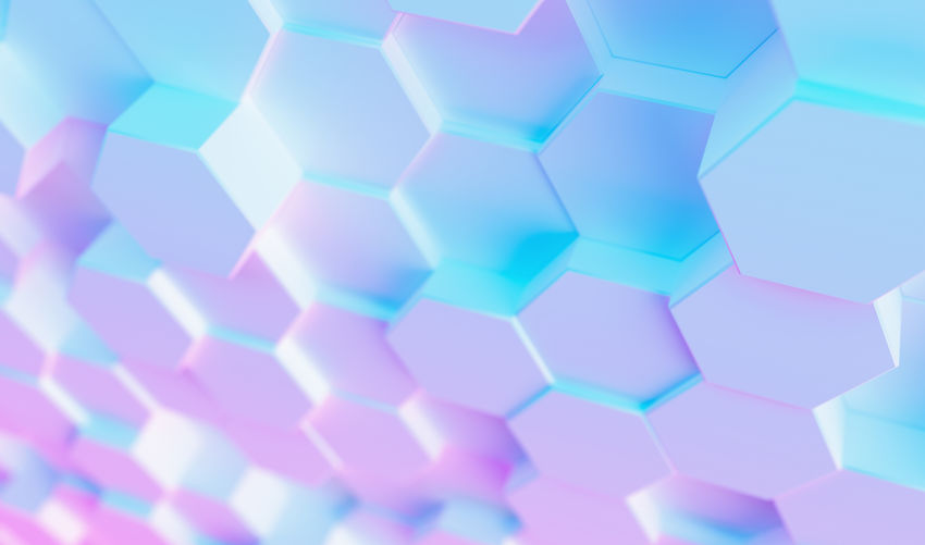 futuristic surface hexagon pattern with colorful bright neon uv blue and purple light White Wallpaper Virtual Reality Trendy Technology Surface Studio Shot Still Life Square Shape Selective Focus Science Row Repetition Realistic Rainbow Purple Play Pink Color Pink Pattern Party Octagon No People Network Neon Multi Colored Modern Light LED Large Group Of Objects Indoors  Hive Hi-tech Hexagonal Hexagon Glow Geometry Geometric Shape Gaming Gamer Futuristic Full Frame Fluorescent Event Entertainment Electric Effect Disco Digital Design Cyber Copy Space Concept Computing Computer Composition Complexity Colorful Close-up Business Blue Background Blue Backgrounds Background Art Abstract
