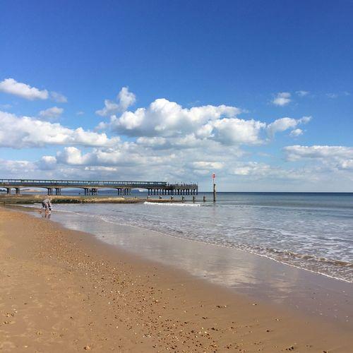 Boscombe Sea Front Boscombe Pier  Beach Dorset