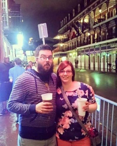 Happy Nationalbeardday to myself. Picture from our trip to New Orleans with that 🍺