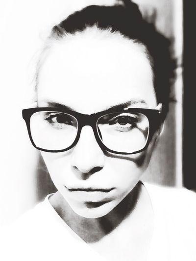 Blackandwhite Glasses Narcissism