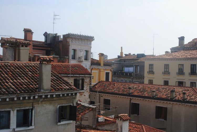 Building Exterior Architecture Built Structure Roof City No People Residential Building Day Outdoors Venice, Italy City Architecture Rooftop Skyline September