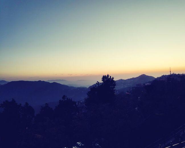 Sunset @ Simla