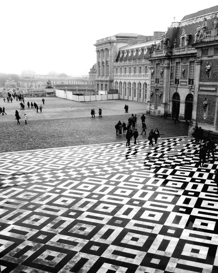 Blackandwhite Blackandwhite Photography Paris Versailles Mood Versailles, France People Photography People_bw Landscape Landscape_Collection City Memories ❤️