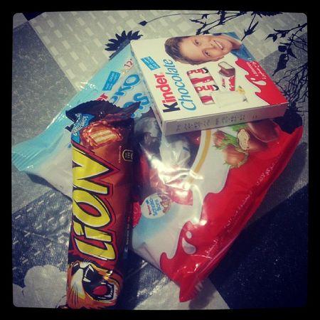 CHOCOLATE !*-* Kinderchocolate Lion Kinderchocobon Cocolateaddict