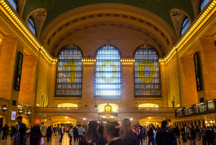 Grand Central 100 year anniversary, NYC. Photographed by Cooper Billington. Colors Grand Central Station NYC Crowd People Photo Photography Yellow