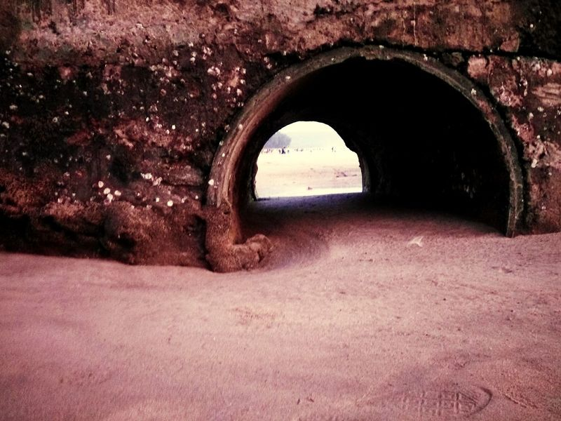 Arch Tunnel Nature No People Natural Arch Architecture Indoors  Day Structures Structure And Nature Sand Structural Engineering
