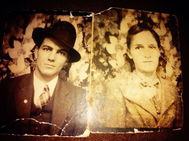 My grandparents. I feel love and longing to have them back I loved being pampered by them