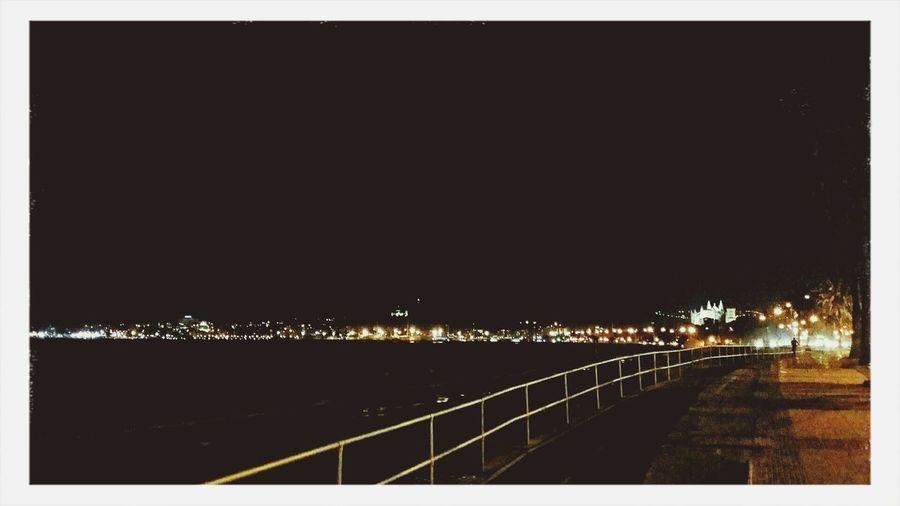 Night Lights Good Night Night Sky Mallorca