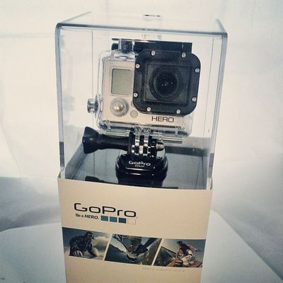 Can't wait to play with my new gift & to get rolling on my new project. Thanks, Artherradura ! Gopro Hero3