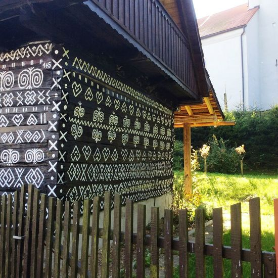 Built Structure Text No People Architecture Building Exterior Outdoors Slovakia Folklore Day
