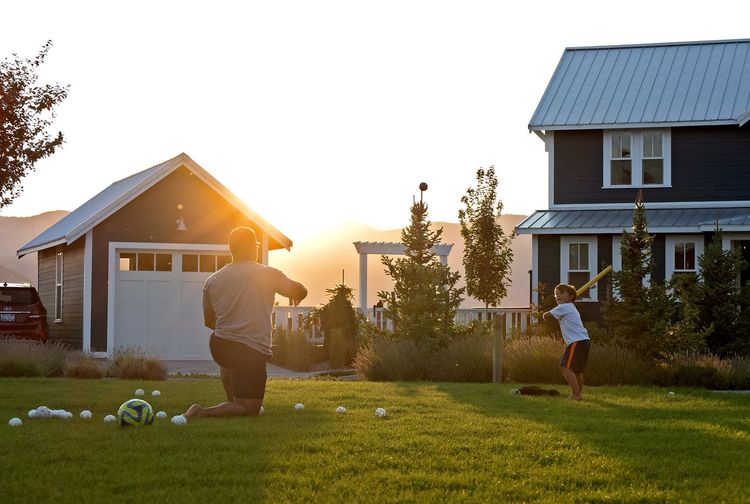 Front Or Back Yard House Childhood Parenting Grass Child People Parenthood Boys Outdoors Summer Sunlight Two People Happiness Lawn Baseball Family Family Time Playing Play Playing Games Sunset Sunset_collection Learning Teaching The Week On EyeEm Be. Ready. See The Light Press For Progress This Is Masculinity Summer Exploratorium Summer Sports #urbanana: The Urban Playground Moms & Dads