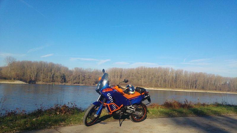 Water Wood Rheinufer Ktm 950adventure Motorcycle Go!!! Ktmbike Ktmworld Ktm Lover! Ktmlove Motorbike Agvhelmets Akrapovic Agv