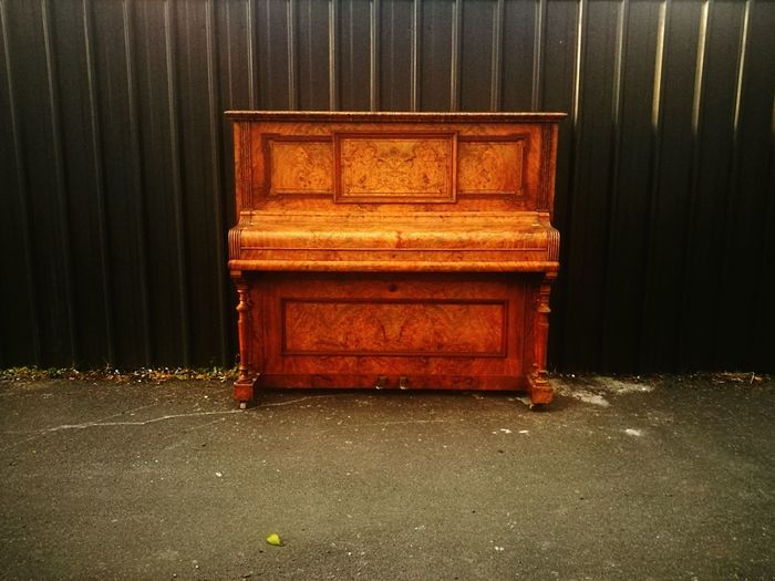 Wood - Material Old-fashioned Arts Culture And Entertainment Pianolover Outsider Art Outside My House Piano
