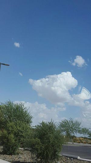 The soda in the sky