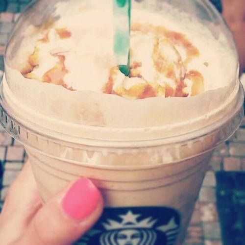 Goodmorning Sabahalkher Coffee Yummy starbucks 100happydays ♡day 2.. coffeeeee ~.~
