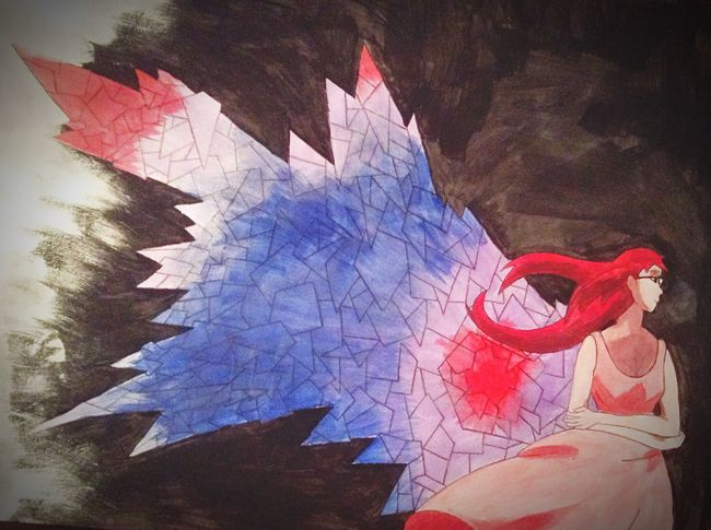 Tokyo Ghoul Art Riza Painting Women XXxTOMASzZz Anime First Eyeem Photo Girl