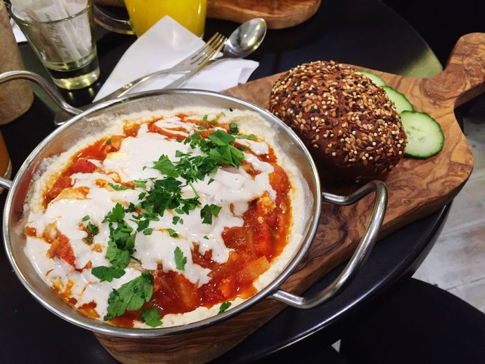 My Favourite Breakfast Moment Shakshuka Israeli Food Camden Town Camden Eating Eat Healthy Eating Eat Clean Eat Eat And Eat Yummy Foodporn Food Porn Food Photography Delicious