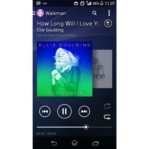 Gk tau knp? Sakit bgt puter ni lagu! MYheart Hurt HOWLONG Will iloveyou elliegoulding just remembering halcyondays