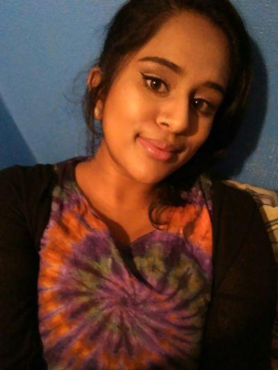 Selfie Me Nofilter Good Lighting  Winged Eyeliner Tiedye