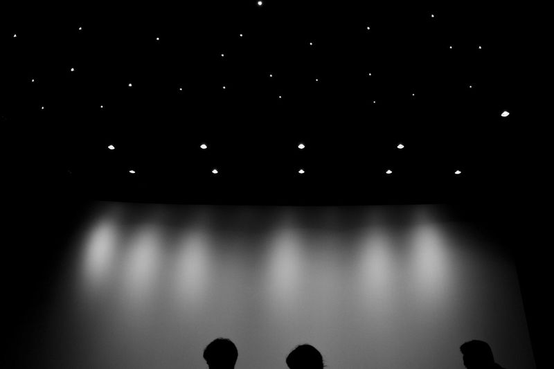 Cinema At The Movie Movie Theater Black & White Black And White Black And White Photography Beginning People Silhouette Things I Like Cinema In Your Life