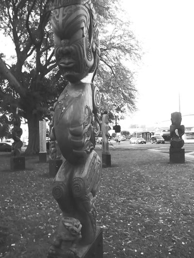 Sculpture Maori Culture Real Love  EyEmNewHere The Photojournalist - 2017 EyeEm Awards Individuality City Streets  City Streets  Outdoors Autumn🍁🍁🍁 Portrait Local Icon Close-up
