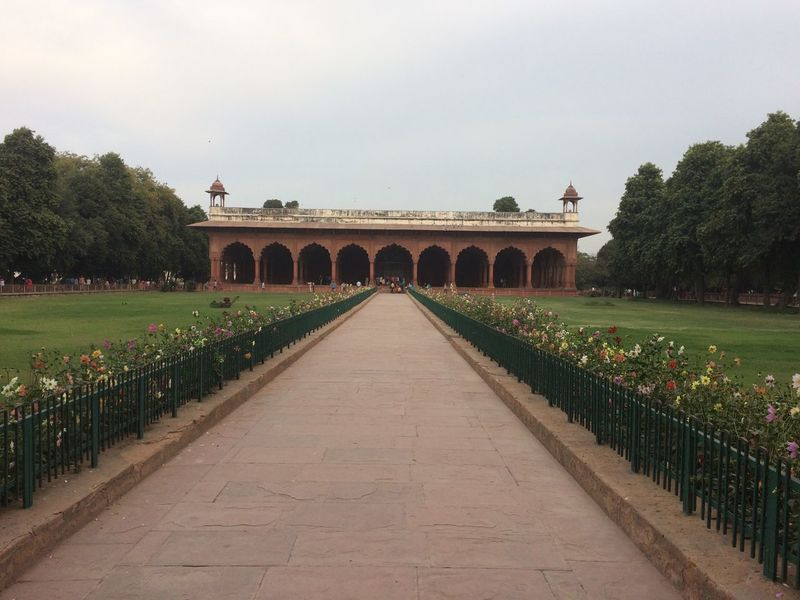Red Fort - New Delhi, India 2017 Tree Sky Built Structure Outdoors Architecture Day Nature Growth Building Exterior No People Gazebo Red Fort Red Forte Area, New Delhi , India