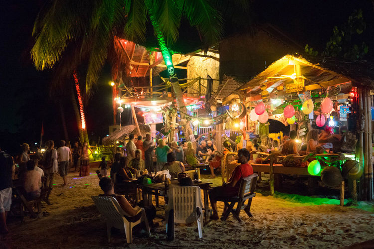 Island Life EyeEm Koh Phangan Beach Photography Colorful Ligths Reagge Bar Koh Phangan Coastline Spotted In Thailand Been There.