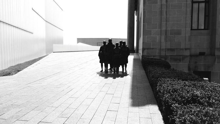 The Architect - 2017 EyeEm Awards LFK Architecture Black & White Portrait. Black And White. Kansas City Building Exterior