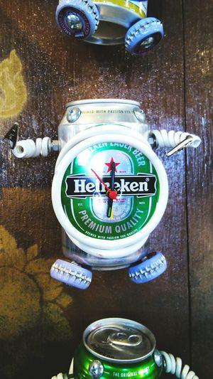 DIY Stuff Handmade RobotBoy Heineken :)