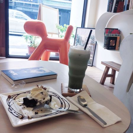 喜歡 Mocha Brownie Chocolate Ice Cream Cake Relaxing Enjoying Life Myself
