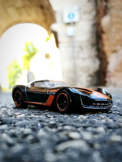 Corvette👹 No People Outdoors Architecture City Day Close-up Diecast Diecastphotography Diecastcollector HotWheels Hotwheelspics Hotwheelsphotography