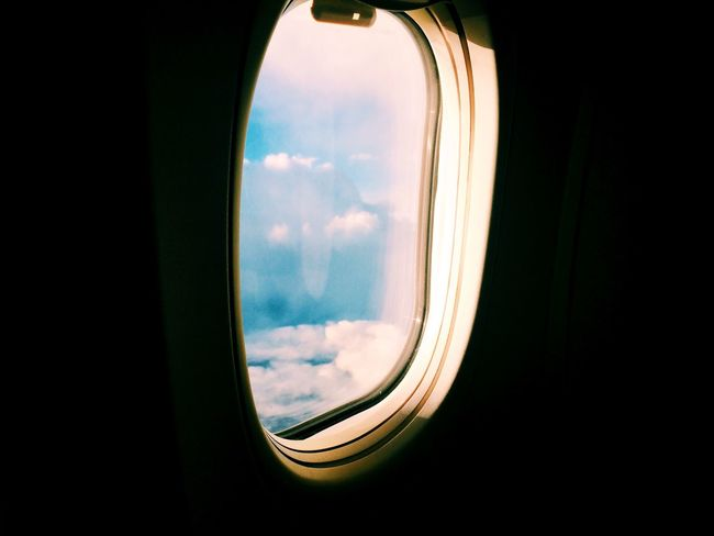 From An Airplane Window Travel Stories While Inbetween