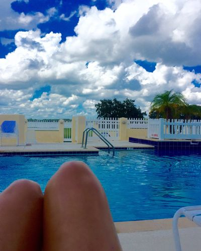 Swimming Pool Water Cloud - Sky Lakeshore Mylife Myhome Ilivewhereyouvacation Florida Blue Love Listen Within Tadaa Community Tadaa Pocket_family
