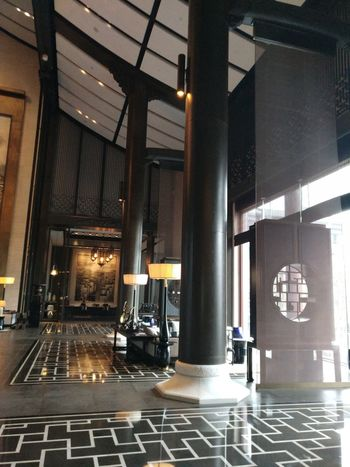 Indoors  Built Structure Architecture Edenmandom Taking Photos Hanging Out Mobile Phone Photography Nubia Z11 Black Gold Mobile Phone Wanda Vista Hotel Lobby, Hefei, China.