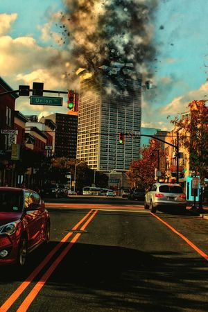 The collapse Graphic Design Stree Photography Graphic HDR Nature Landscape DSLR Newark