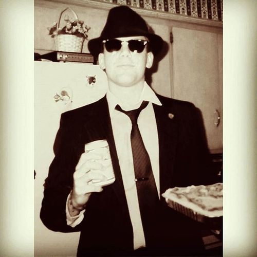 TBT  1980s Budwieser Suitandtie Umustbecrazy Fiftyshadesofgreenbacks Ybnormal Sorryucantcontrolme Noregrets Allin EVERYTIME Vintage Bluesbrothers Werewolvesoflondon Cake HappyBirthday Howcomeitakemyselfsoseriously Seriously HaveFun Dowhatuwanttodo Rockon Peace