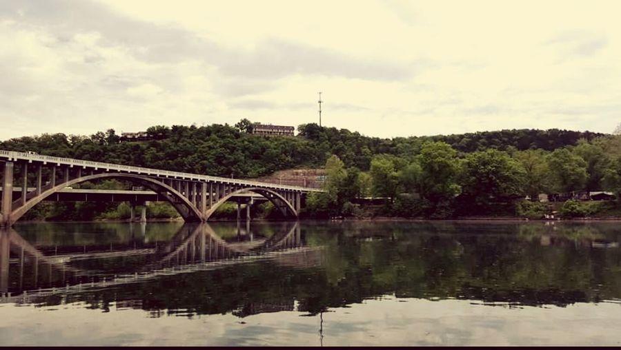 Bridge lake view