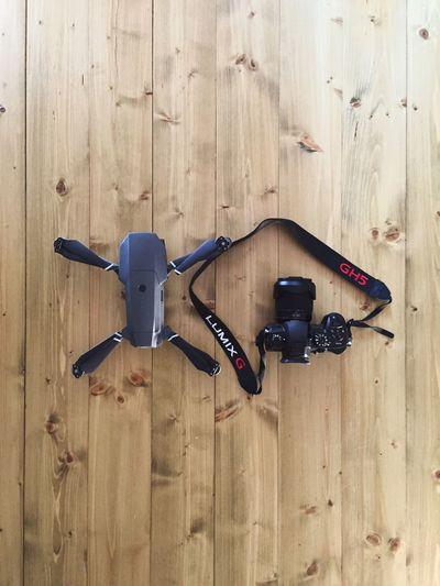 Filmmakers dream Drone Photography Drone  Mavic Pro Gh5 Stock