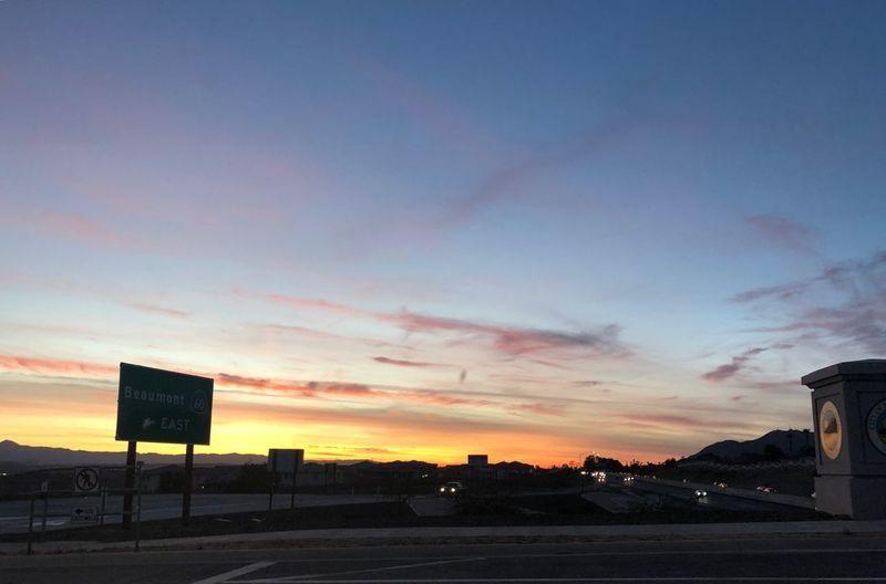 Did you have a good day? Sky Sunset Cloud - Sky Nature Orange Color Dusk
