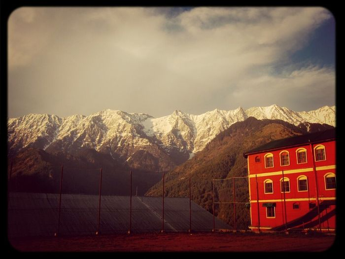 Breath taking Himalaya mountains . My school is situated just at its foothill Himalayas WOW Foothill Mothernature