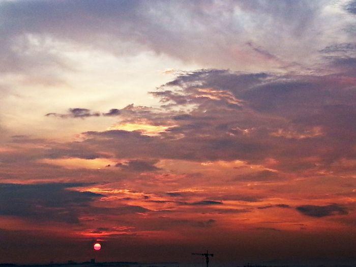Sunset 250514 Sky And Clouds Sky Sunset Sun!