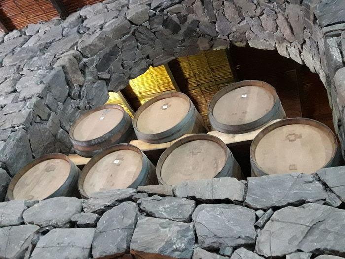 Barrel Indoors  Stack Wine Cask Wood - Material