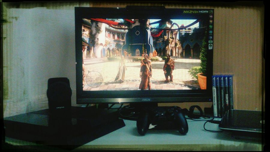 Dragon Age Inquisitionps4 controller PS4