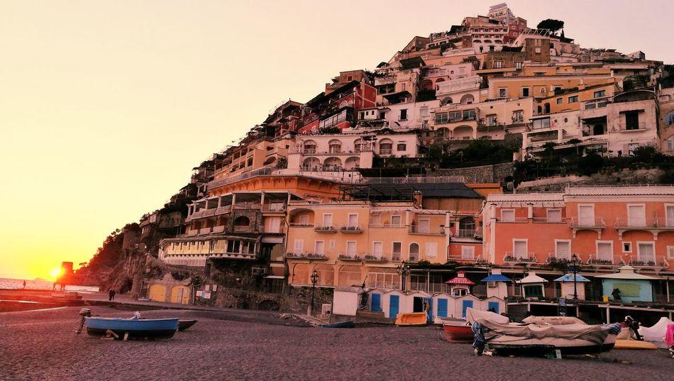 Positano Panoramic Photography Costiera Amalfitana Mare Rural Scene Panorama Paesaggi Città Di Mare